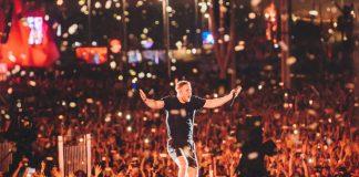 Dan Reynolds e Imagine Dragons no Rock In Rio 2019