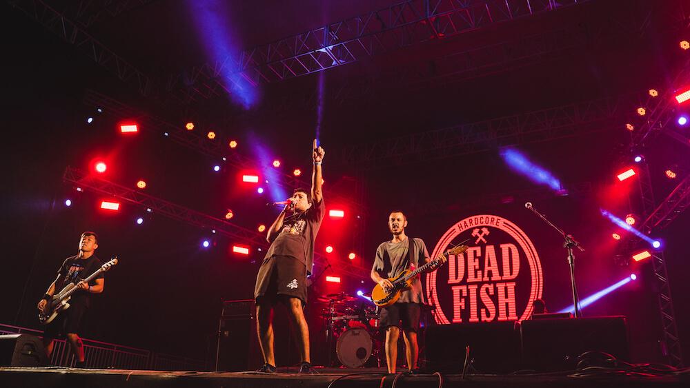 Dead Fish no Porão do Rock