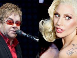 Elton John e Lady Gaga