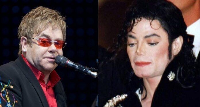 Elton John e Michael Jackson