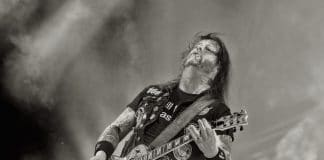 Gary Holt com o Slayer no Rock In Rio 2019