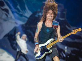 Steve Harris do Iron Maiden no Rock In Rio 2019
