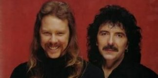 James Hetfield e Tony Iommi