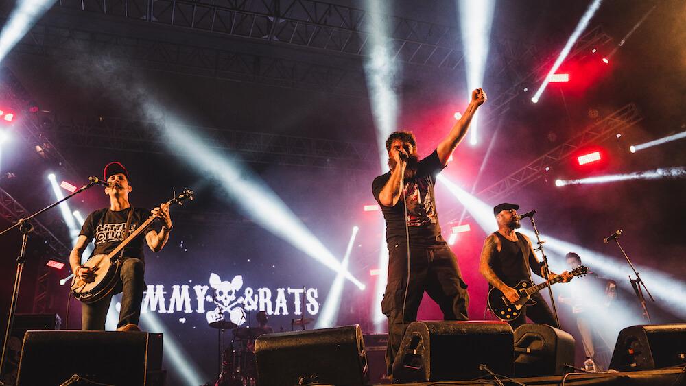 Jimmy & Rats no Porão do Rock