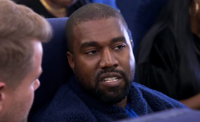 Kanye West no Airpool Karaoke