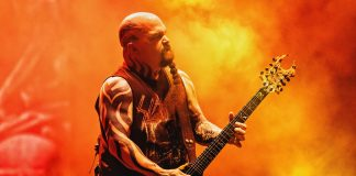 Kerry King, do Slayer, no Rock In Rio 2019