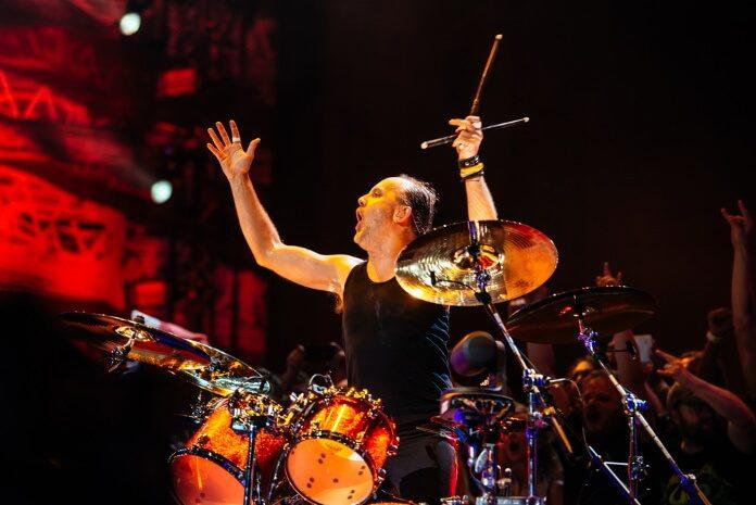 Lars Ulrich, baterista do Metallica