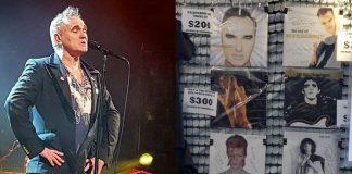 Morrissey vende discos autografados