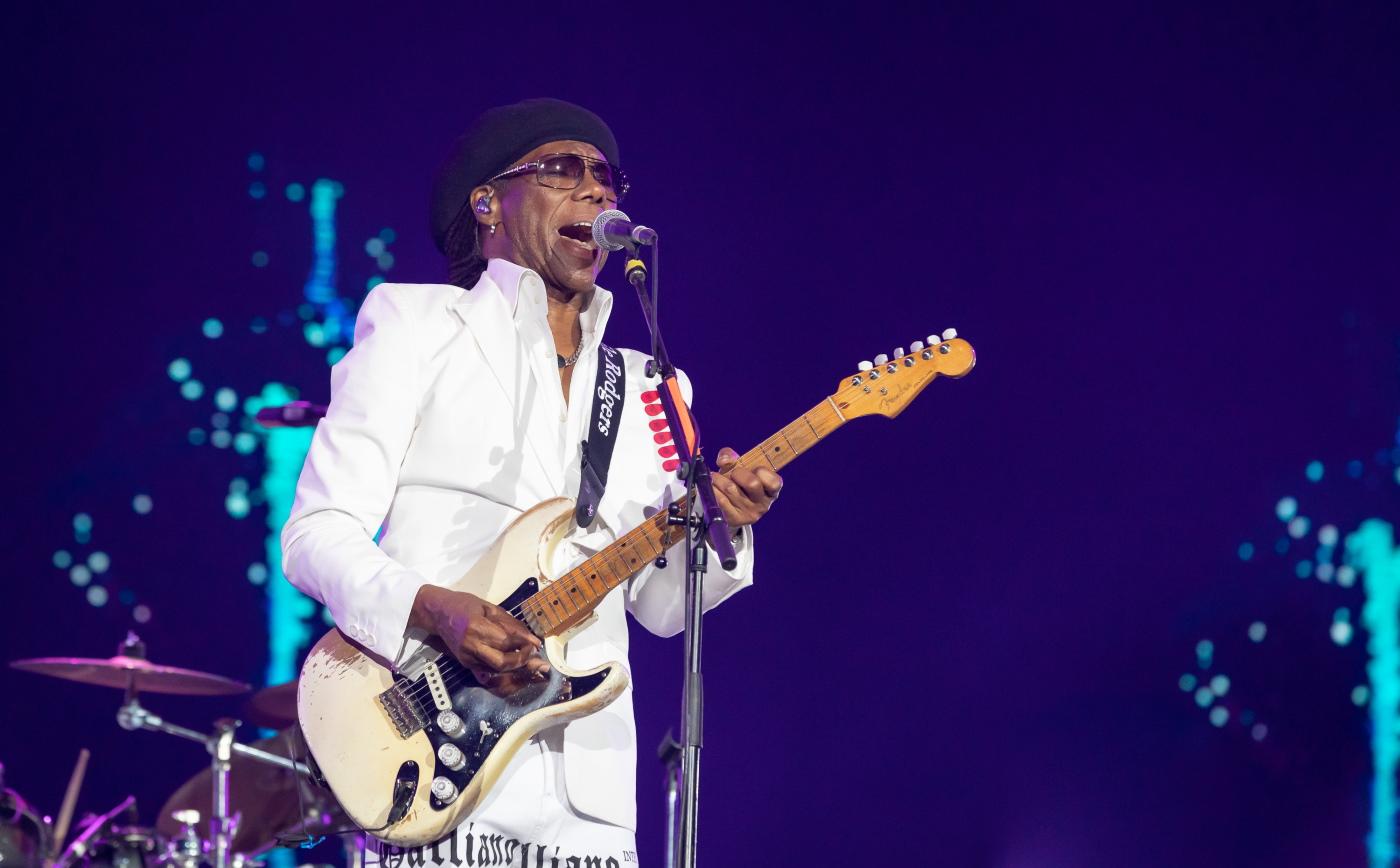 Nile Rodgers no Rock In Rio