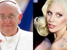 Papa Francisco e Lady Gaga