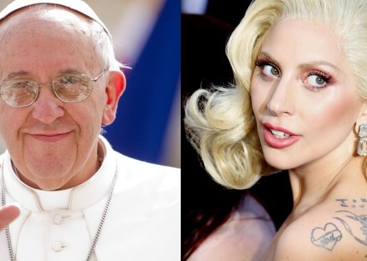 Papa Francisco e Lady Gaga