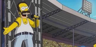 Homer Simpson, Freddie Mercury, Queen e Live Aid