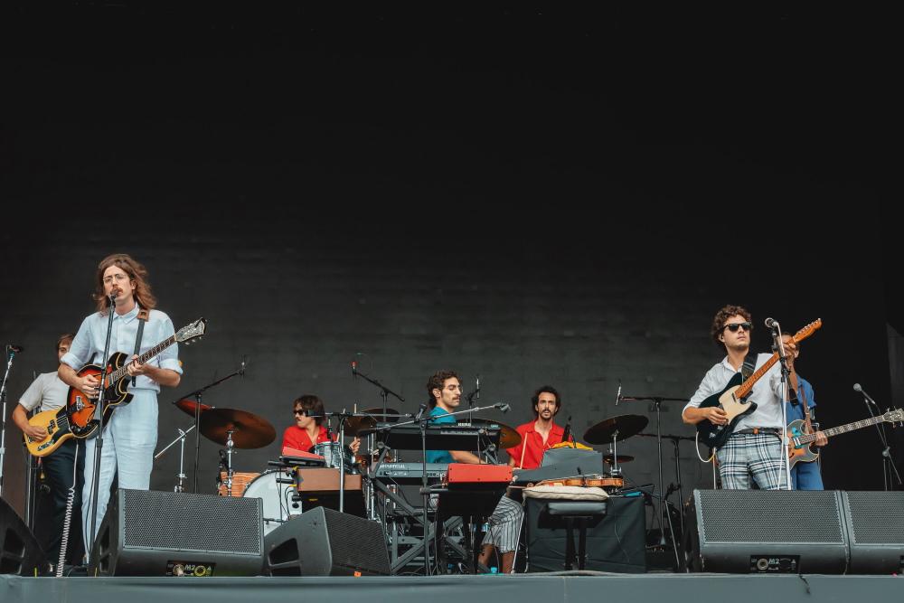 O Terno e Capitão Fausto no Rock In Rio 2019