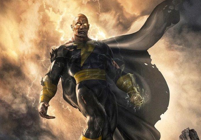 Adão Negro The Rock DC Comics