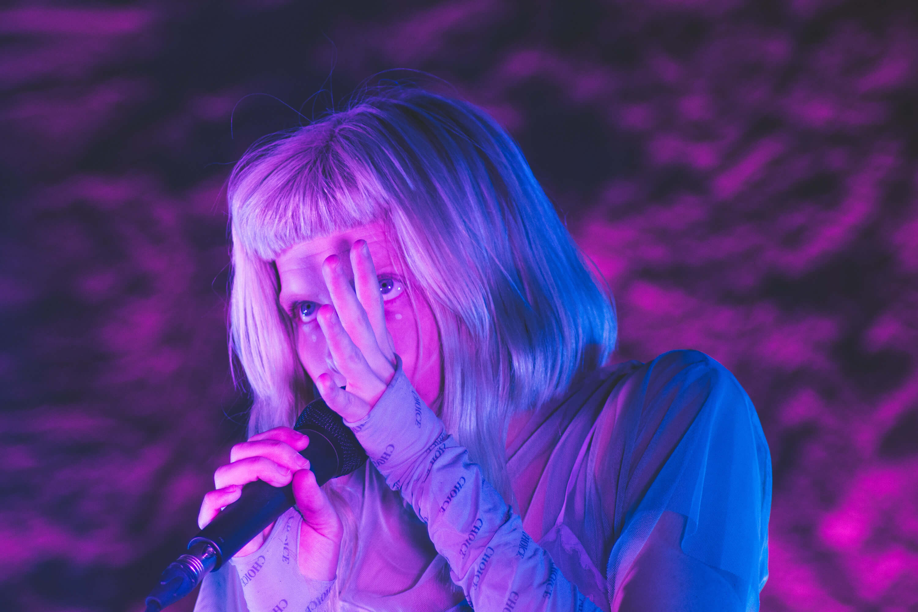 Aurora no Pitchfork Paris