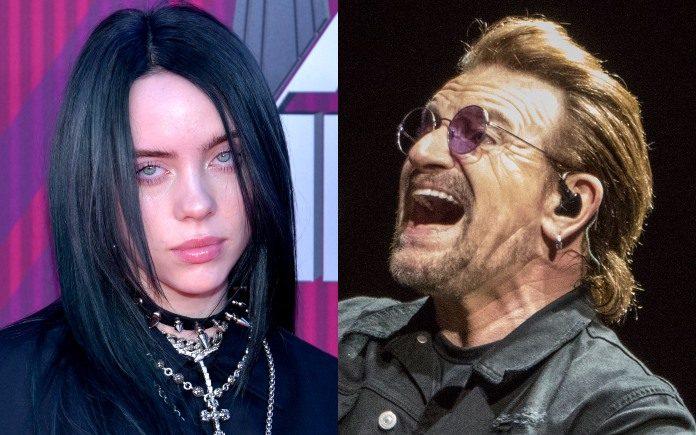 Billie Eilish e Bono (U2)
