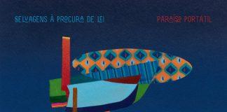 """Capa de """"Paraíso Portátil"""" (Selvagens à Procura de Lei)"""