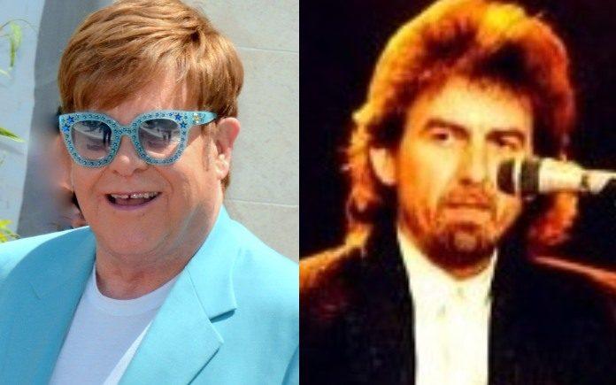 Elton John e George Harrison