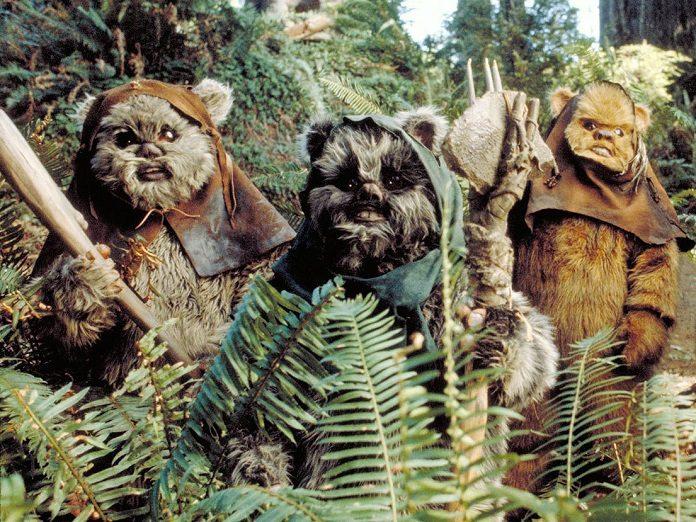 Ewoks em Star Wars