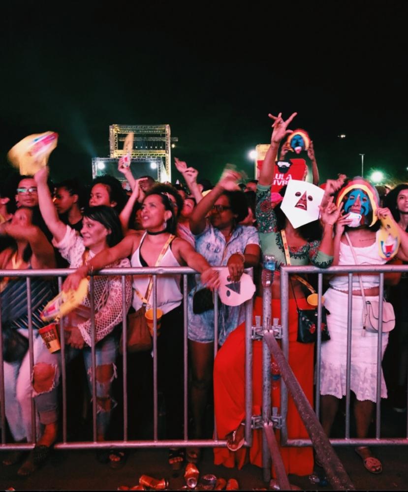 Público do BaianaSystem em Salvador