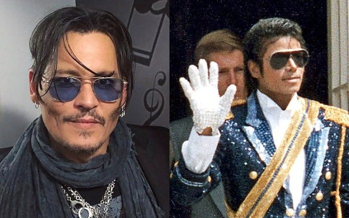 Johnny Depp e Michael Jackson