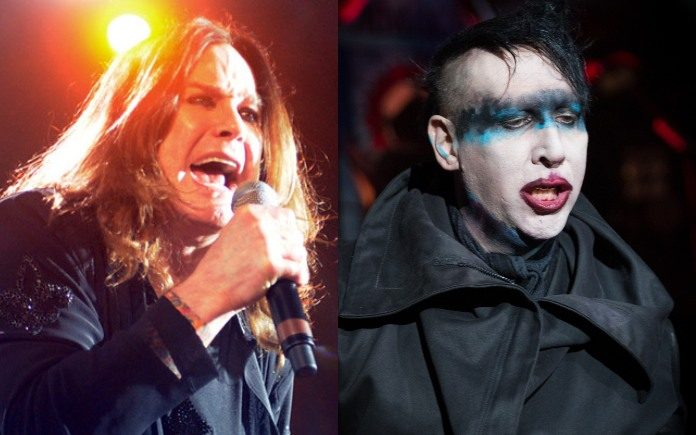 Ozzy Osbourne e Marilyn Manson