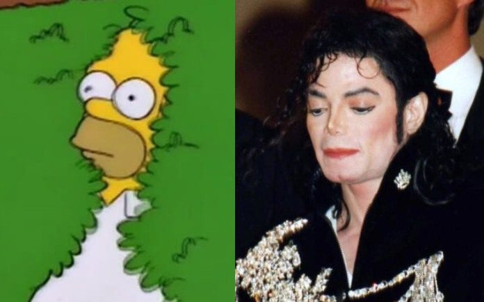 Simpsons Michael Jackson
