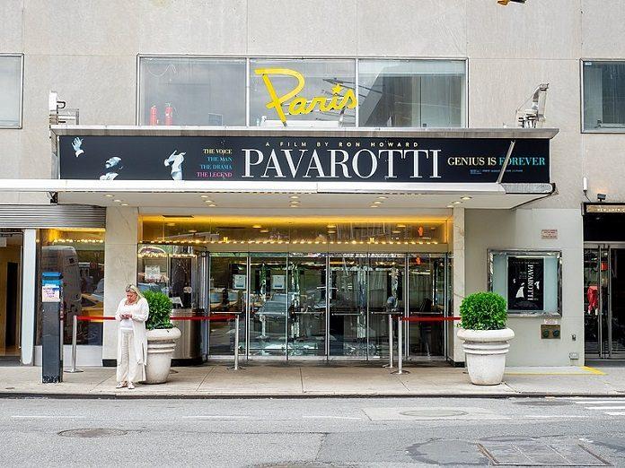 The Paris Theatre em Nova York, agora da Netflix