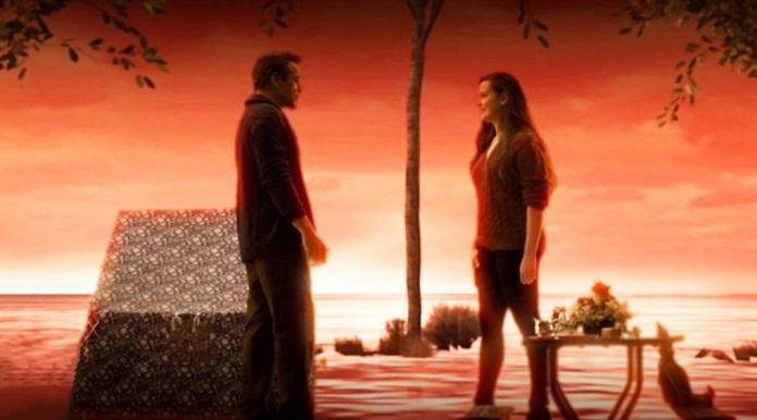 Tony Stark e Morgan Stark adulta
