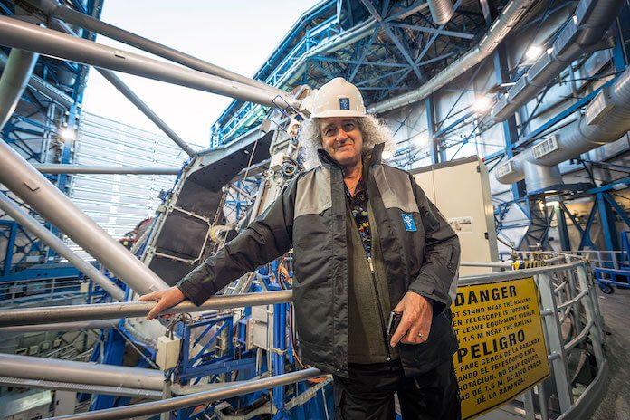 Brian May no Observatório Paranal