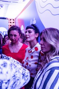 Claudia Assef, Monique Dardenne e Fátima Pissarra