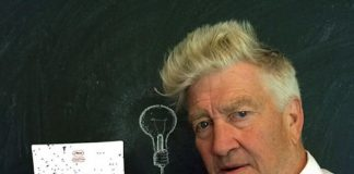 David Lynch segurando Bacurau