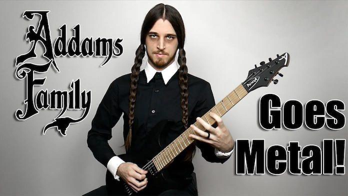 Família Addams Goes Metal