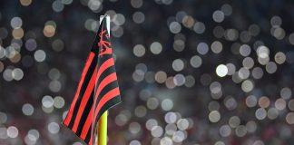 Bandeira de escanteio do Flamengo