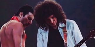 Freddie Mercury e Brian May, do Queen
