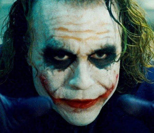 Heath Ledger como Coringa