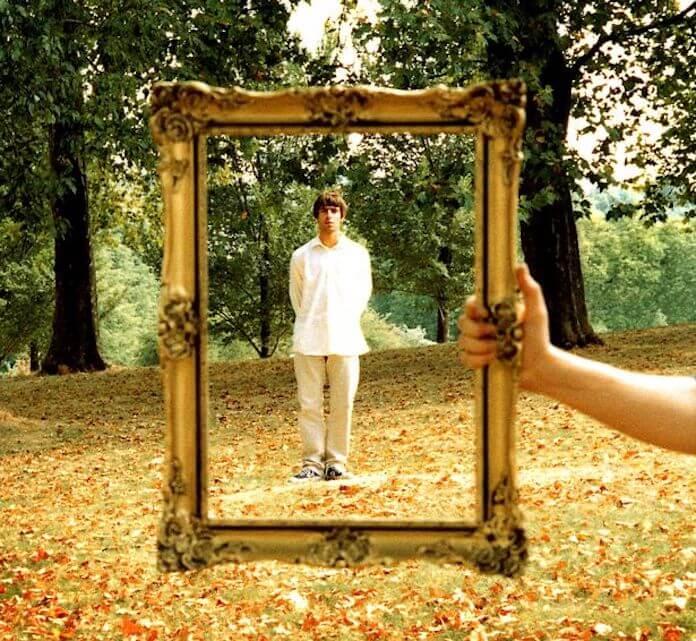 "Liam Gallagher na capa de ""Wonderwall"""