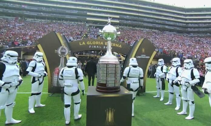 Stormtroopers na final da Libertadores
