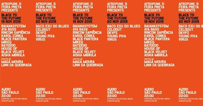 Line-up Afropunk + Feira Preta
