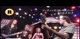 Marty Friedman e Paul Gilbert no Rock Fujiyama