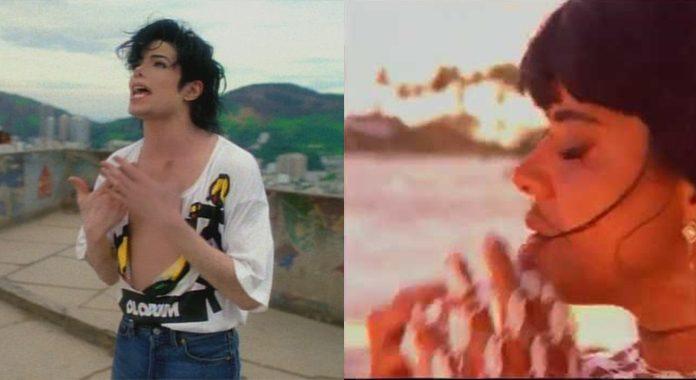Michael Jackson e Mara Maravilha