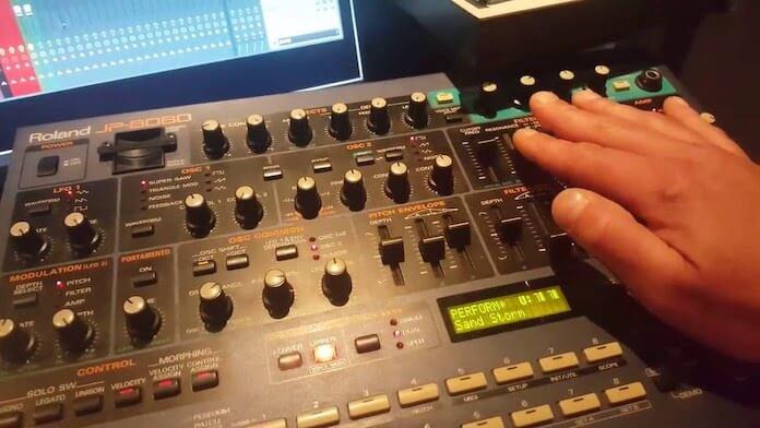 "Roland JP-8080 no preset ""Sand Storm"""