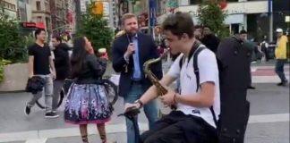 Saxofonistas abafam discurso homofóbico