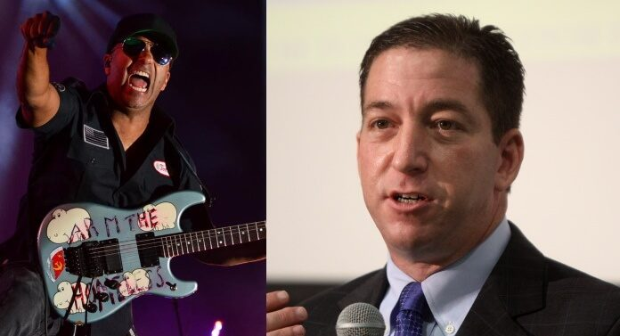 Tom Morello e Glenn Greenwald