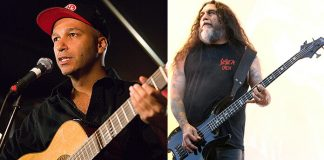 Tom Morello (Rage Against the Machine) e Tom Araya (Slayer)