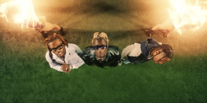 Travis Scott, Young Thug e Gunna em vídeo de
