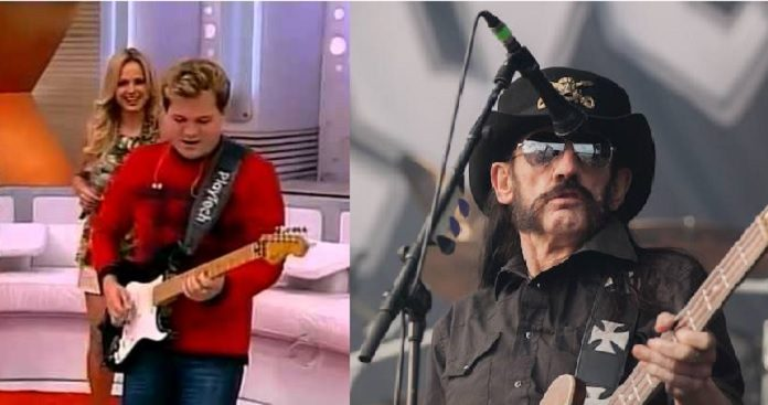 Chimbinha e Lemmy, do Motorhead