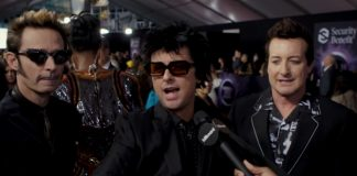 Green Day no AMA Tapete Vermelho