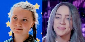 Greta Thunberg e Billie Eilish