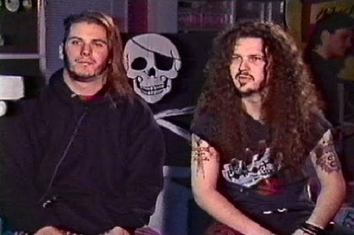 Phil Anselmo e Dimebag Darrell (Pantera)